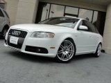 2008 Ibis White Audi A4 2.0T Special Edition Sedan #68283109