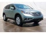 2012 Opal Sage Metallic Honda CR-V EX #68342016