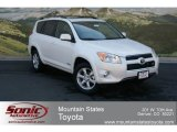 2012 Blizzard White Pearl Toyota RAV4 V6 Limited 4WD #68341900