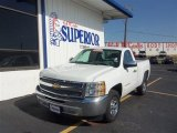 2012 Summit White Chevrolet Silverado 1500 LT Regular Cab #68341945
