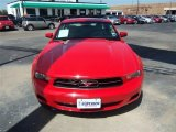2011 Race Red Ford Mustang V6 Premium Coupe #68341947