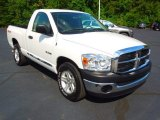 2008 Bright White Dodge Ram 1500 ST Regular Cab #68342062
