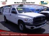 2008 Bright White Dodge Ram 1500 ST Regular Cab #68342116