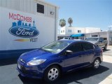 2012 Sonic Blue Metallic Ford Focus S Sedan #68361686
