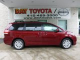 2012 Salsa Red Pearl Toyota Sienna LE AWD #68361681