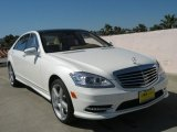 2013 Diamond White Metallic Mercedes-Benz S 550 Sedan #68361697