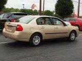 Light Driftwood Metallic Chevrolet Malibu in 2005