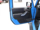 2012 Jeep Wrangler Sahara 4x4 Door Panel