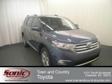 2012 Shoreline Blue Pearl Toyota Highlander Limited 4WD #68367275