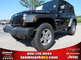 2012 Black Jeep Wrangler Rubicon 4X4 #68367045
