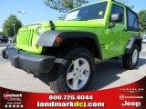 2012 Gecko Green Jeep Wrangler Sport S 4x4 #68367044