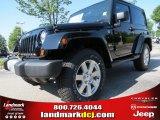2012 Black Jeep Wrangler Sahara 4x4 #68367043