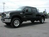 2005 Black Ford F350 Super Duty Lariat Crew Cab 4x4 #68367422