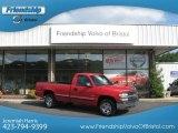 2001 Victory Red Chevrolet Silverado 1500 LS Regular Cab 4x4 #68367006