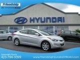 2013 Shimmering Air Silver Hyundai Elantra Limited #68367002