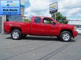2013 Victory Red Chevrolet Silverado 1500 LT Extended Cab 4x4 #68366990