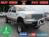 2000 Oxford White Ford F250 Super Duty Lariat Crew Cab 4x4 #68367381