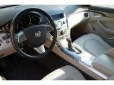 2009 Cadillac CTS 4 AWD Sedan Cashmere/Cocoa Interior