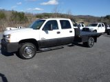 2006 Summit White Chevrolet Silverado 3500 LT Crew Cab 4x4 Dually #68367345