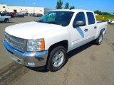 2012 Summit White Chevrolet Silverado 1500 LT Crew Cab 4x4 #68367329