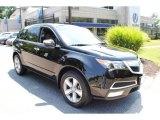 2011 Crystal Black Pearl Acura MDX  #68406364