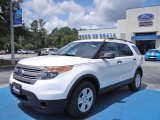 2013 Oxford White Ford Explorer 4WD #68406354