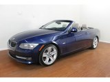 2011 Deep Sea Blue Metallic BMW 3 Series 335i Convertible #68406348
