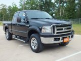 2005 Black Ford F350 Super Duty XLT SuperCab 4x4 #68407055