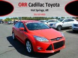 2012 Race Red Ford Focus SEL Sedan #68406667