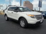 2011 White Suede Ford Explorer FWD #68406305