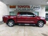 2008 Salsa Red Pearl Toyota Tundra Limited CrewMax 4x4 #68406276