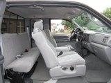 2003 Ford F250 Super Duty XLT SuperCab 4x4 Medium Flint Grey Interior