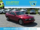 2005 Redfire Metallic Ford Mustang V6 Deluxe Coupe #68406988
