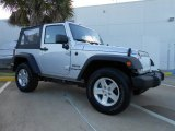 2011 Bright Silver Metallic Jeep Wrangler Sport S 4x4 #68406974