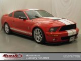 2007 Torch Red Ford Mustang Shelby GT500 Coupe #68406597