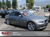 2009 Space Grey Metallic BMW 3 Series 335i Coupe #68406549