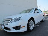 2011 White Platinum Tri-Coat Ford Fusion SEL #68406931