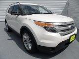 2013 White Platinum Tri-Coat Ford Explorer XLT #68406534