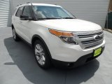 2013 White Platinum Tri-Coat Ford Explorer XLT #68406533