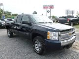 2011 Imperial Blue Metallic Chevrolet Silverado 1500 LS Extended Cab 4x4 #68406881
