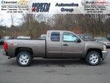 2012 Mocha Steel Metallic Chevrolet Silverado 1500 LT Extended Cab 4x4 #68406437