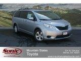 2012 Silver Sky Metallic Toyota Sienna LE #68406070