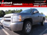 2008 Graystone Metallic Chevrolet Silverado 1500 LT Regular Cab #68406397