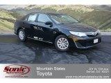2012 Attitude Black Metallic Toyota Camry LE #68406068