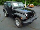 2012 Black Jeep Wrangler Sport 4x4 #68406800