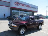 2004 Deep Molten Red Pearl Dodge Dakota SXT Regular Cab 4x4 #68469064