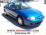 2003 Arrival Blue Metallic Chevrolet Cavalier Coupe #68469346