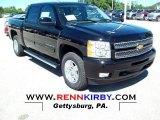 2013 Black Chevrolet Silverado 1500 LTZ Crew Cab 4x4 #68469343