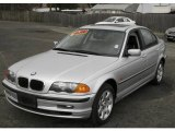 2001 Titanium Silver Metallic BMW 3 Series 325xi Sedan #6828426