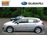 2012 Ice Silver Metallic Subaru Impreza 2.0i Premium 5 Door #68469028